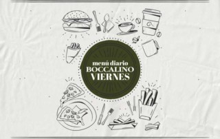 Menú diario Viernes - Restaurante Boccalino Sitges centro