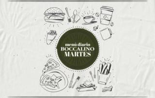 Menú diario restaurante Boccalino Sitges (Barcelona)